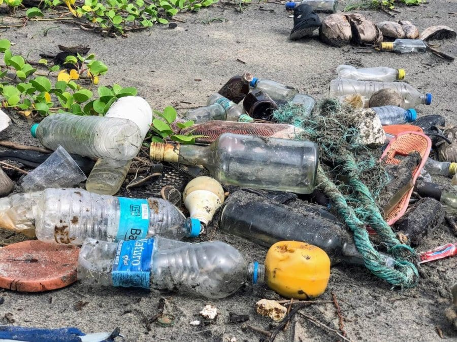 Garbage on the beach Expatriate in Malaysia