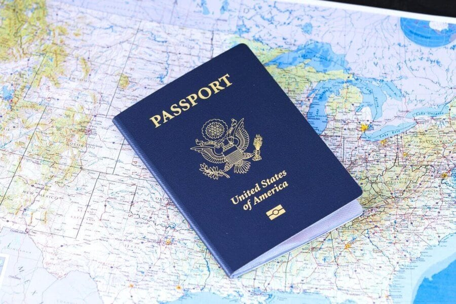 American Passport on map. I want to move abroad. where do i start?