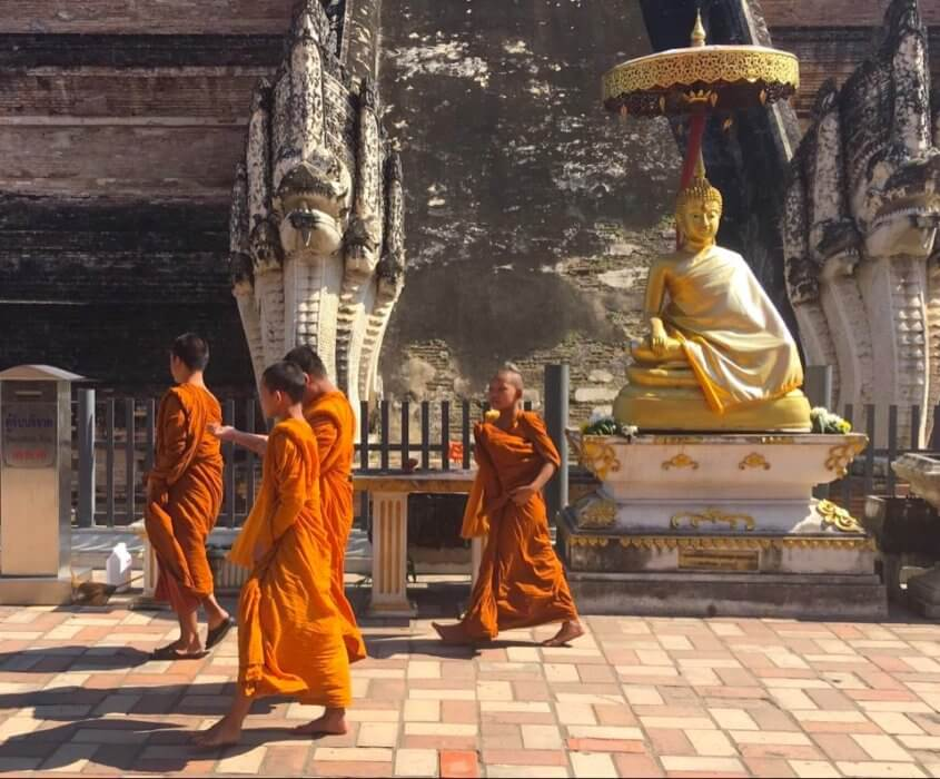 Monk children: scenes for an expat in Chiang Mai