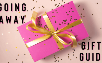 Going Away Gift Guide: Saying Goodbye Sucks, Don't Buy Gifts That Suck Too